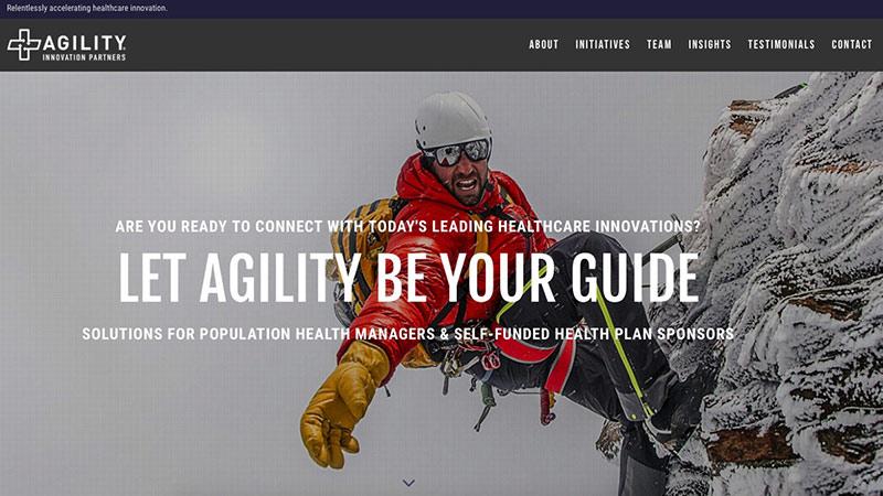 Agility Innovation Partners Website