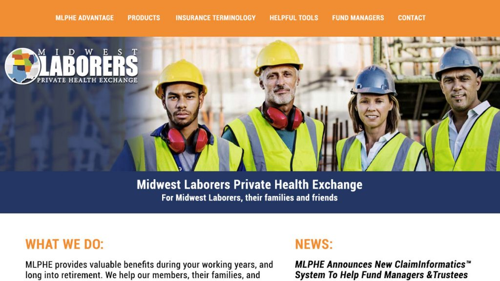 Midwest Laborers Website