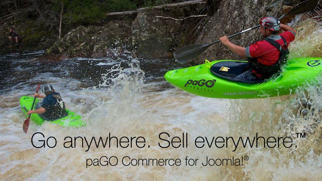 paGO Commerce kayaks