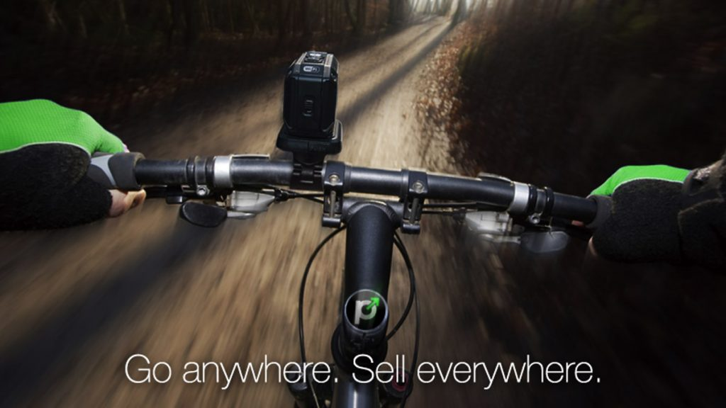 Mountain biking with paGO Commerce