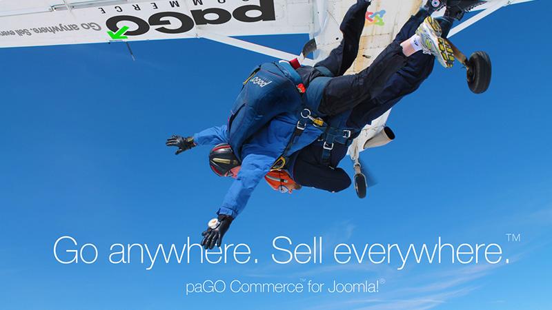 paGO Commerce Website